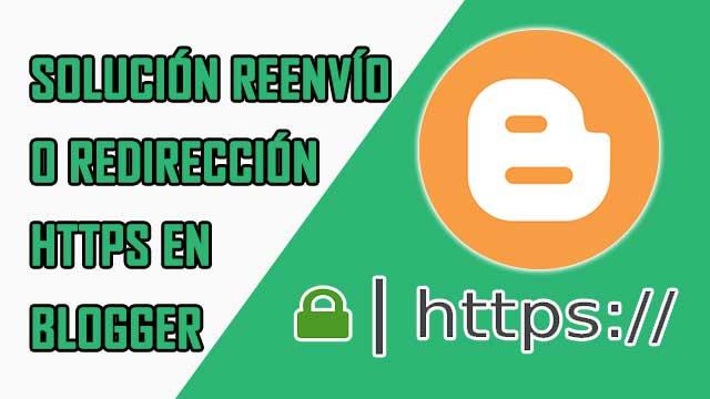 solución problema con redirección HTTPS en Blogger