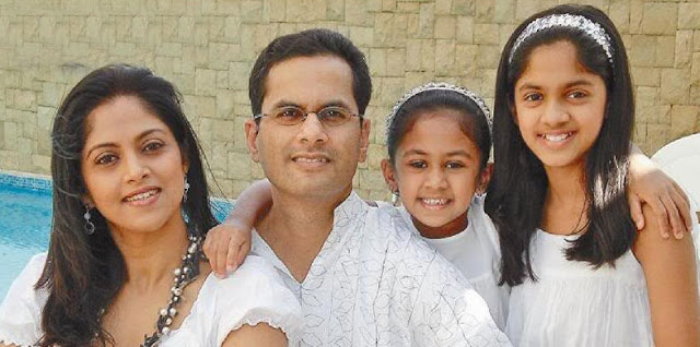 Nadhiya Family Photos
