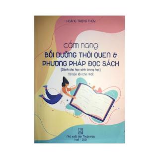 Cẩm nang bồi dưỡng thói quen và phương pháp đọc sách cho học sinh trung học ( tái bản lần thứ nhất) ebook PDF-EPUB-AWZ3-PRC-MOBI