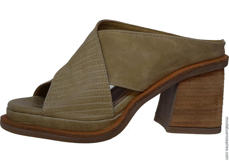 Zapatos y sandalias primavera verano 2020
