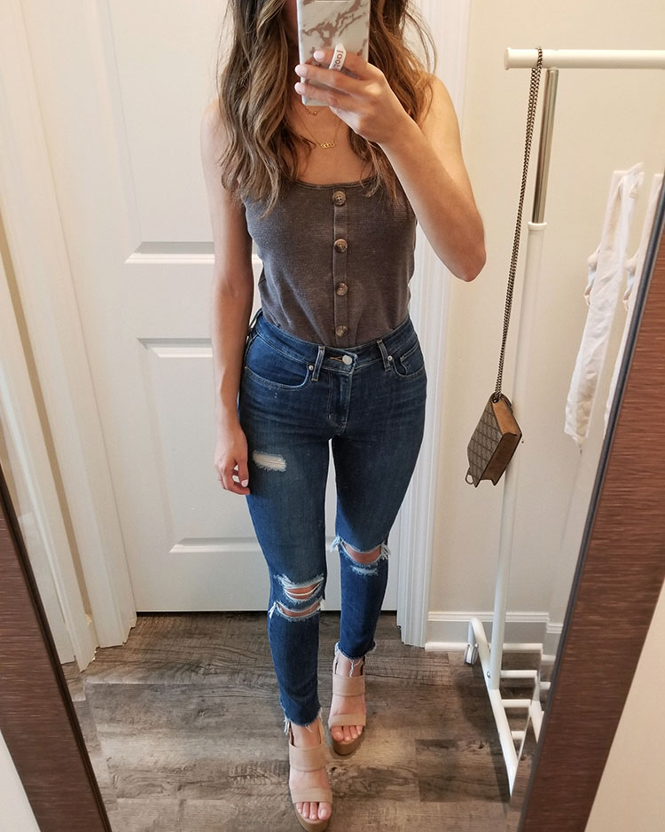american eagle summer try on haul