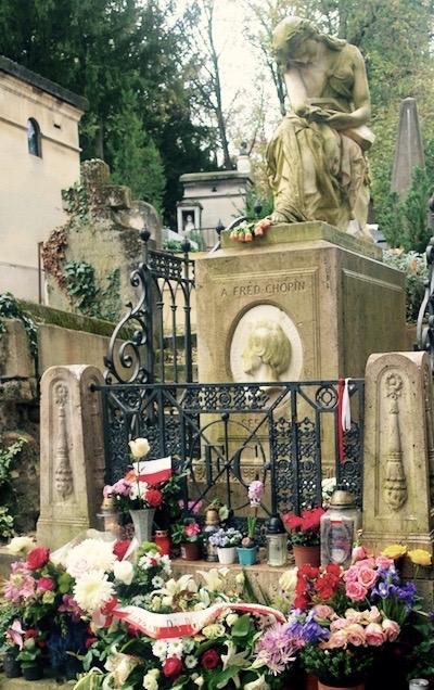 Paryż śladami Chopina, Paryż gdzie mieszkał chopin