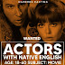 ARGENTINA: Wanted ACTORS whit native ENGLISH age 18-60 years for MOVIE