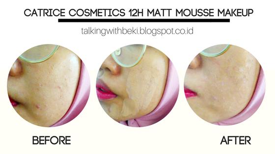Review Catrice Cosmetics 12h Matt Mousse Makeup