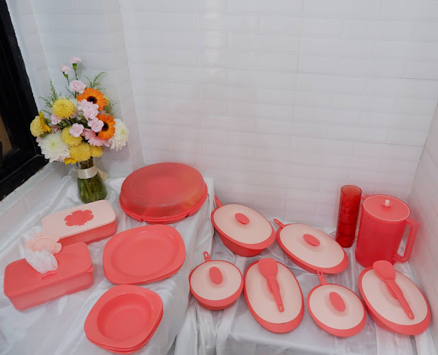 Review Koleksi Tupperware Bloomia