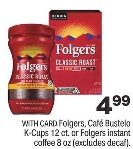 Cheap Folgers K-Cups CVS Coupon Deals 6/13-6/19