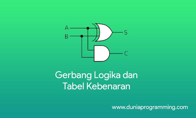 Penjelasan Lengkap Gerbang Logika dan Tabel Kebenaran - Dunia Programming