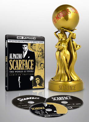 Scarface 1983 Gold Edition 4k Ultra Hd Limited Edition