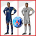 Kit PSG - Paris Saint-Germain 2022 And Logo Dream League Soccer