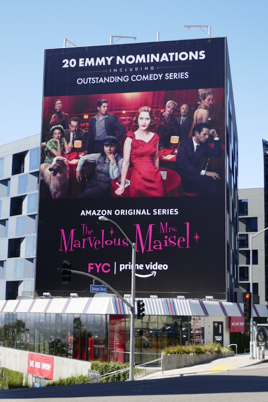Mrs Maisel season 3 Emmy nominations billboard