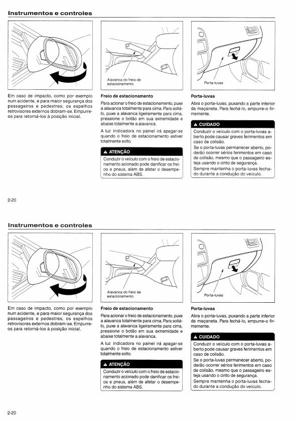 MANUAIS DO PROPRIETÁRIO: MANUAL DO HONDA CIVIC 1999