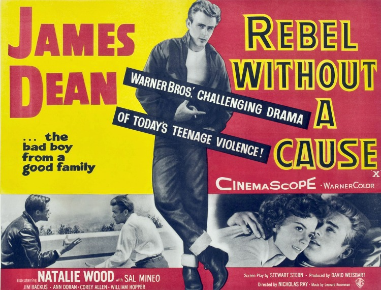 A Vintage Nerd, Movie Madness Monday, Classic Film Recommendations, Rebel without a Cause