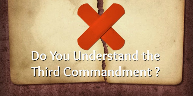 we can violate the Third Commandment even if we never cuss.