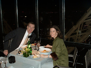 an american mommy in paris birthday dinner atop the eiffel tower. Black Bedroom Furniture Sets. Home Design Ideas