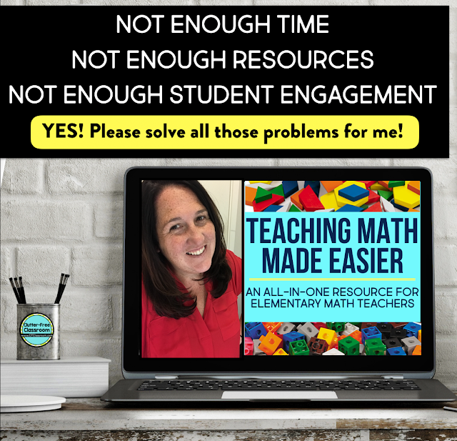 Whether you call it a MATH RICH CLASSROOM or NUMERACY RICH ENVIRONMENT, let's create a learning environment filled with math vocabulary, tools, and resources to nurture our elementary students' love and enthusiasm for math. Teachers, read this blog post to learn more! #elementarymath #classroomenvironment #elementaryclassroom
