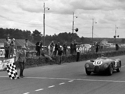 Jaguar C-Type Le Mans 1953
