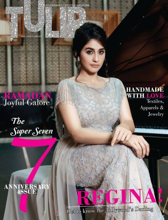 Regina Cassandra On The Cover of Tulip Magazine June 2017