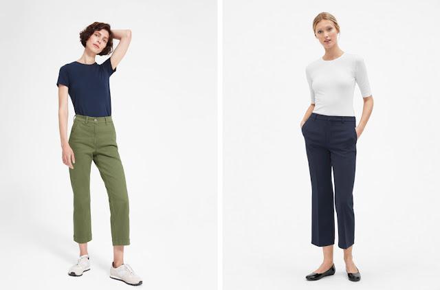 Базовые джинсы цвета хаки и темно-синие базовые брюки