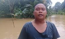 Dampak Banjir, Aktivitas Warga Desa Jesape Lumpuh Total