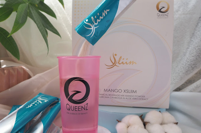 QUEENZ Mango XSliim Slimming Juice malaysia blogger cestlajez