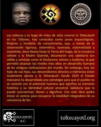 LA TOLTECÁYOTL sabiduría ancestral tolteca.