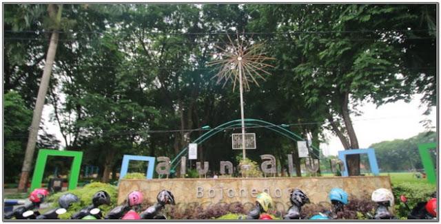 Alun-alun Bojonegoro;10 Top Destinasi Wisata Bojonegoro;