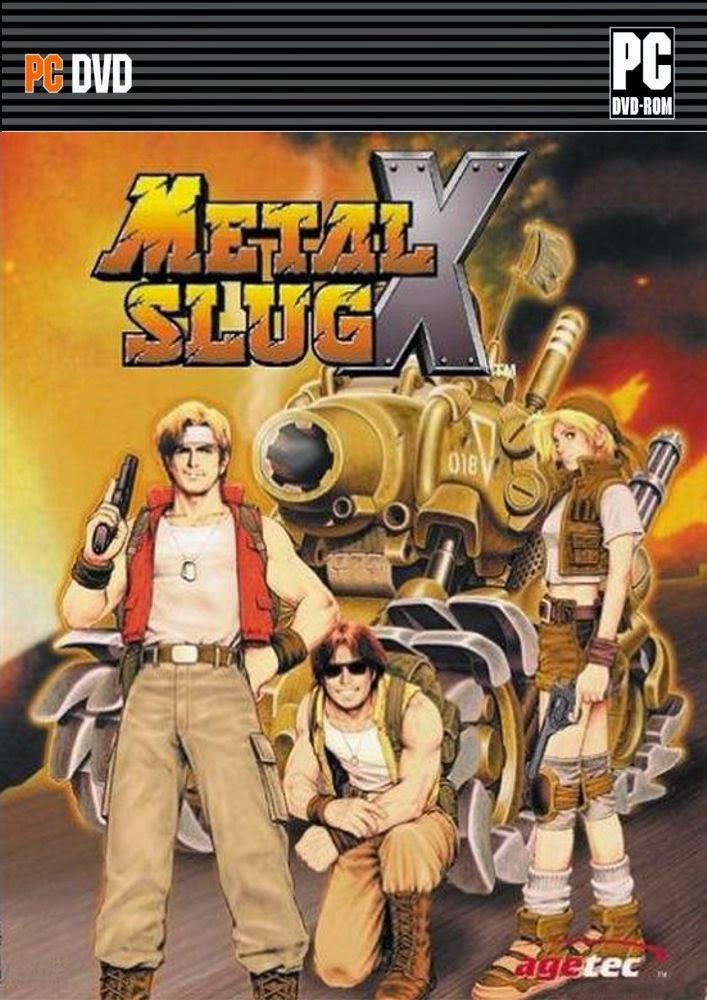 Descargar Metal Slug X PC Cover Caratula