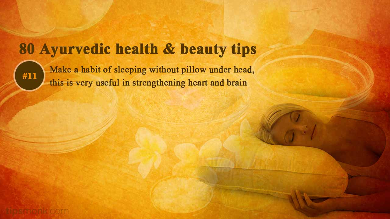 Ayurvedic daily health tips from Ayurveda books - Tipsmonk