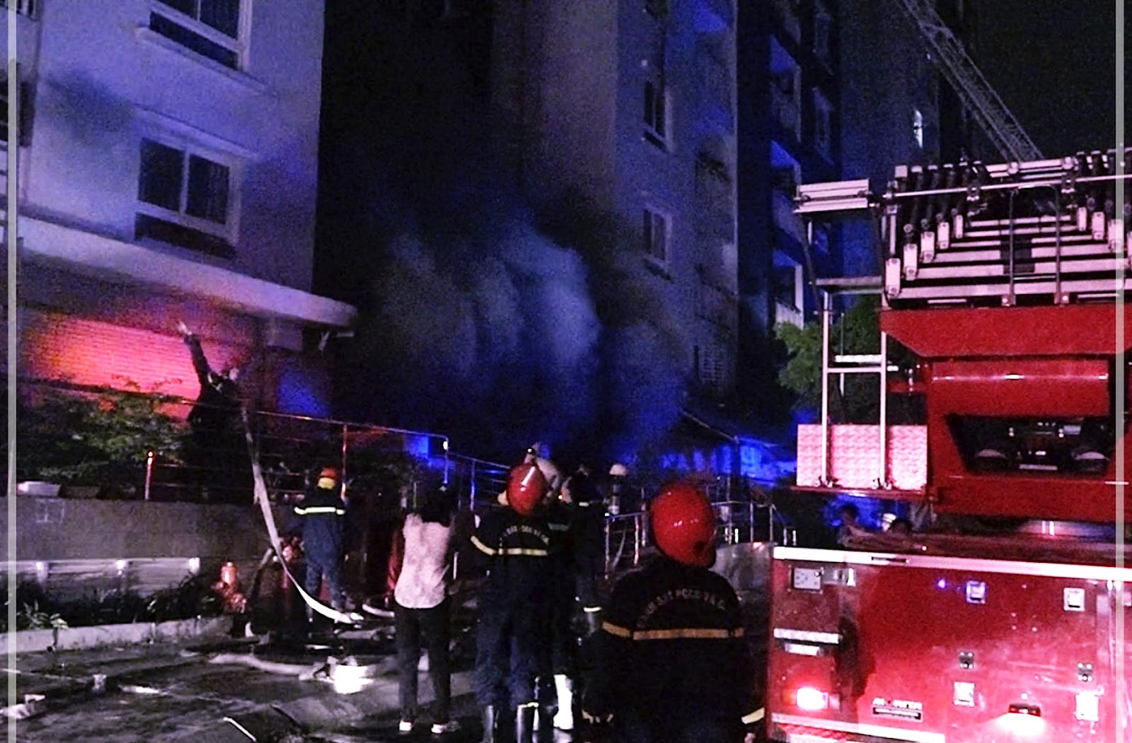 Vụ cháy chung cư Carina Plaza