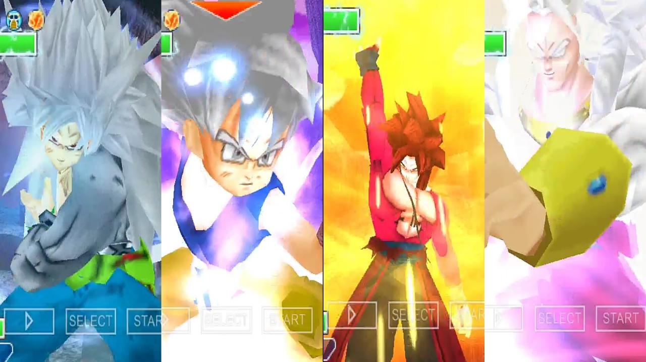 Dragon Ball GT Goku all forms Transformation