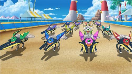 Pokemon Sol y Luna Capitulo 119 Temporada 20 Súper rápido Vikavolt, el despertar de Mamane
