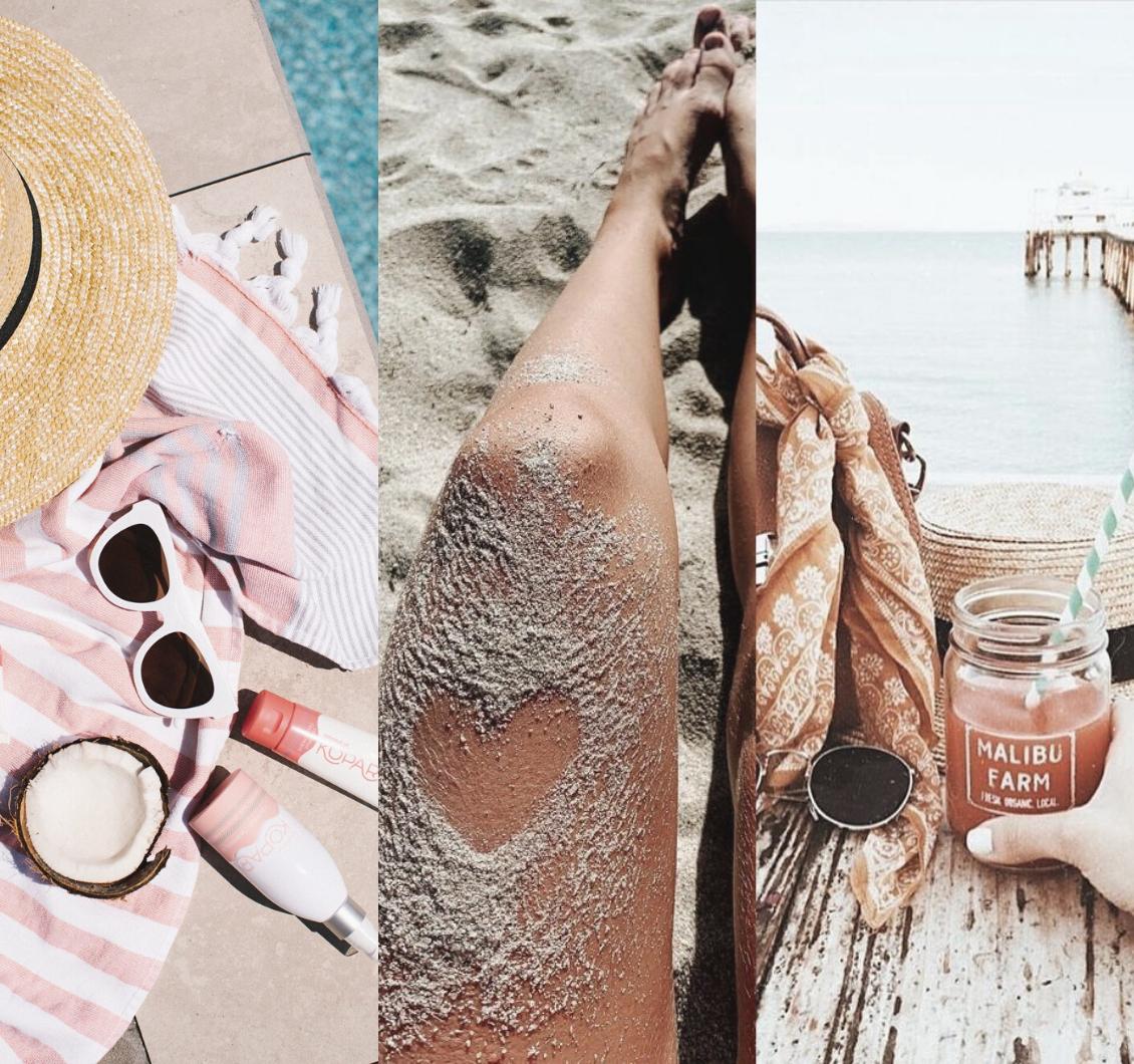 Fotos na praia: ideias para você arrasar no verão