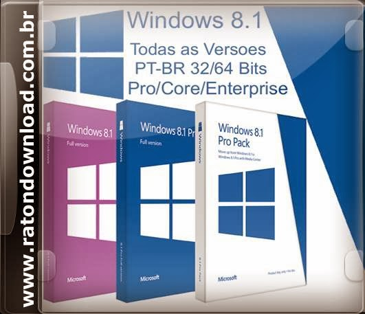 serial windows 8.1 todas as versões
