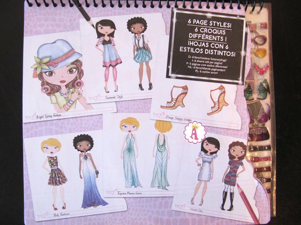 Наборы для дизайна одежды Fashion Angels