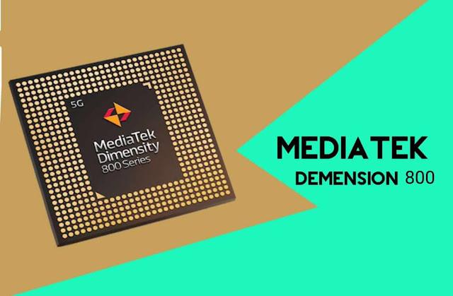 موصفات   معالج ميديا تيك MediaTek Dimension 800 SoC  و قائمة الهواتف التي  يدعمها