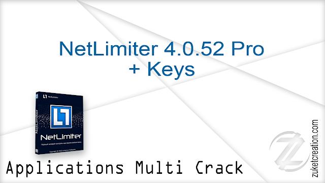 NetLimiter 4.0.52 Pro + Keys