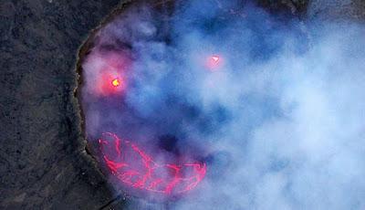 Permalink to 'Wajah Tersenyum' Terlihat di Gunung Berapi Ethiopia