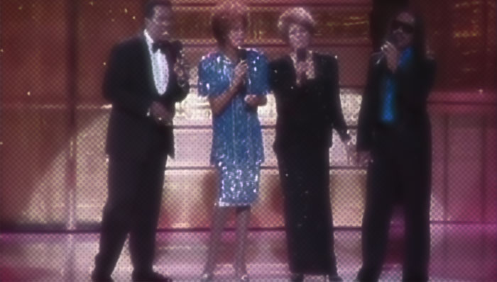 Whitney Houston, Luther Vandross, Dionne Warwick