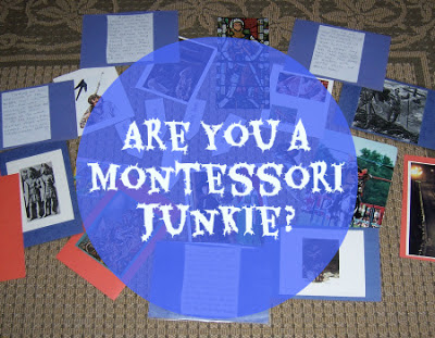 Are You a Montessori Junkie? {Confessions of a Montessori Mom}