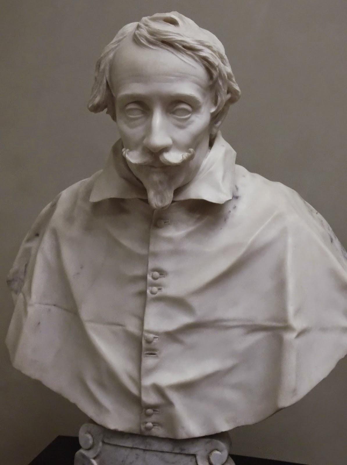 A bust of Cardinal Valier by Gianlorenzo Bernini, Ca' d'Oro, Venice