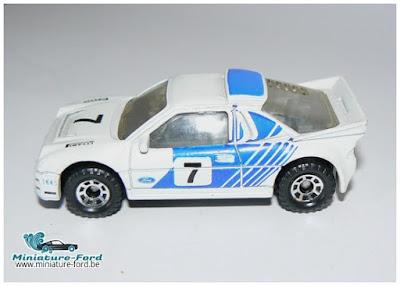 Matchbox, Ford RS 200