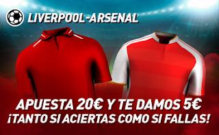sportium Promo Liverpool vs Arsenal 24 agosto 2019