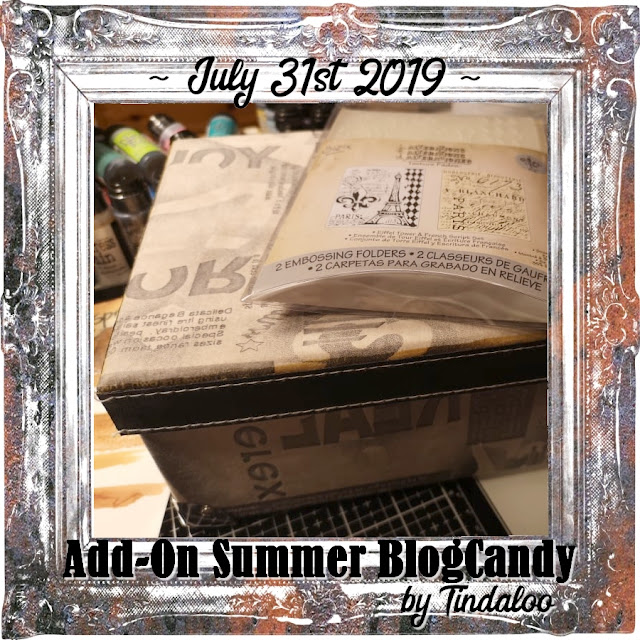 Tindaloo Add-On Summer Blog Candy