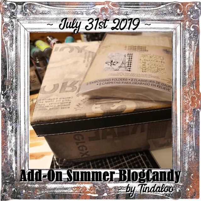 Tindaloo Add-On Summer Blog Candy