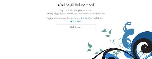 istenci.com'un 404 Hata Sayfası