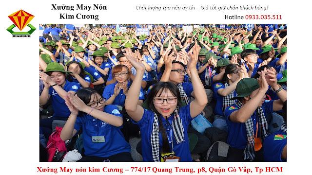 May nón tai bèo số lượng lớn ở Kiên Giang