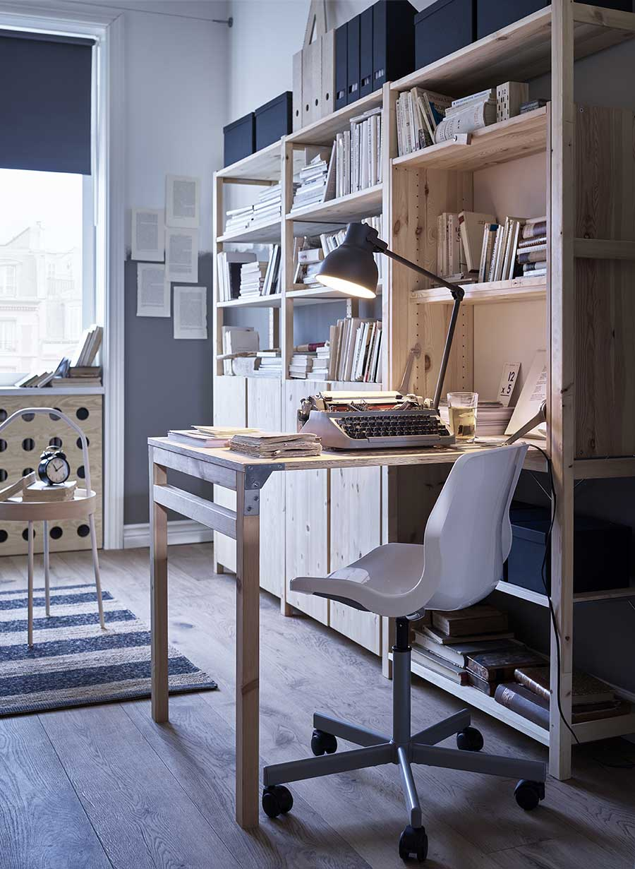 catálogo ikea 2020 dormitorio escritorio madera natural novedad