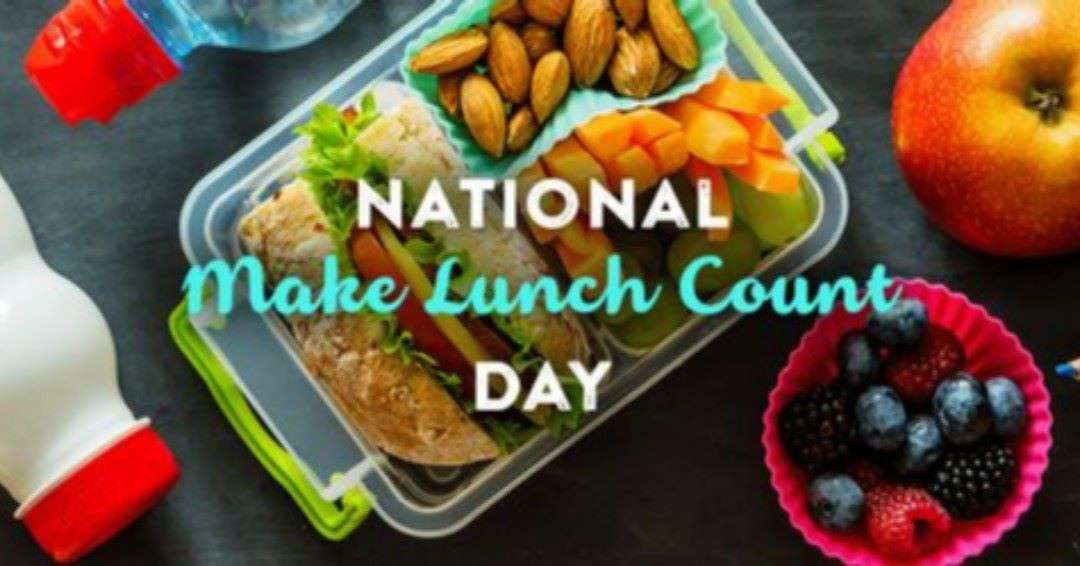 National Make Lunch Count Day Wishes Awesome Picture