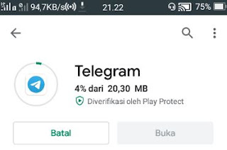 download lagu spotify -install telegram