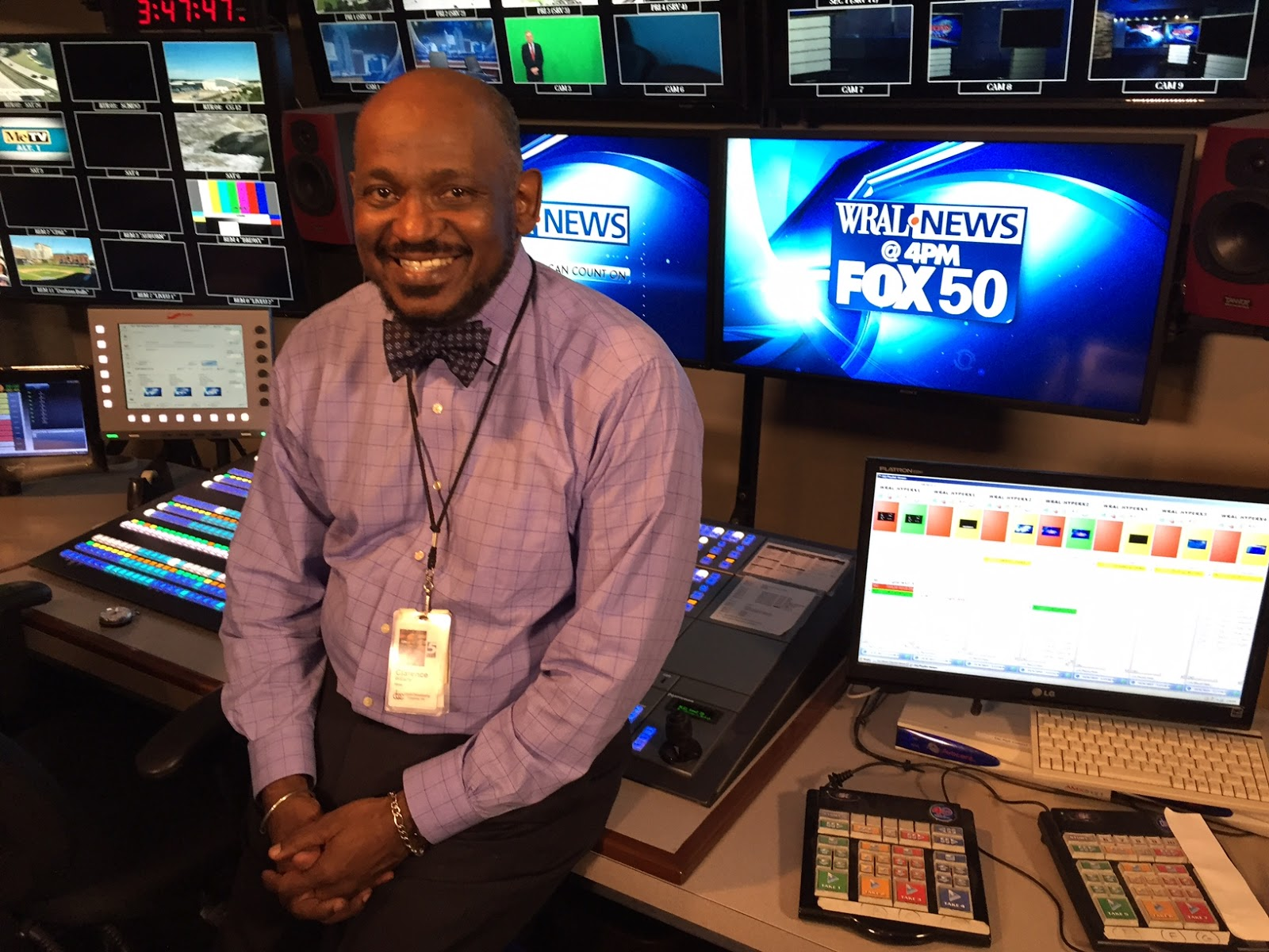 the Cash Roc: WRAL-TV'S CLARENCE WILLIAMS RETIRES AFTER 49 YEARS